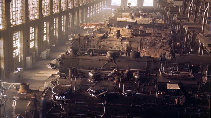 La Segunda Guerra Mundial, vista a todo color