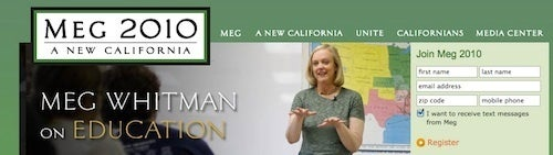 Meg Whitman Is Betting Women Will Make Her Governor