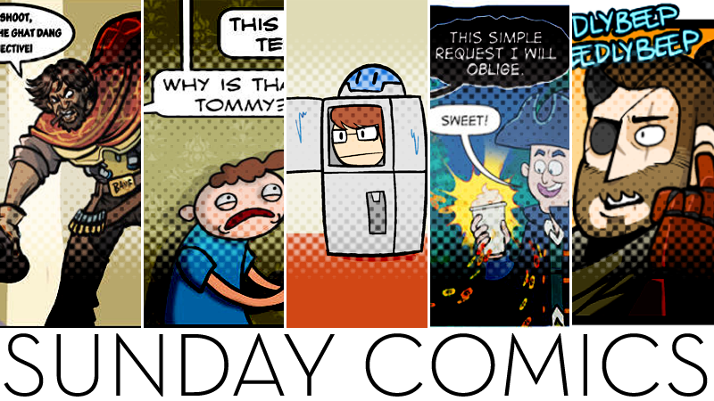 Sunday Comics: Don't Look Now