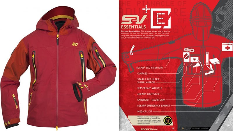 Survival Kit Coat Guarantees You'll Endure The Cold or Any Emergency