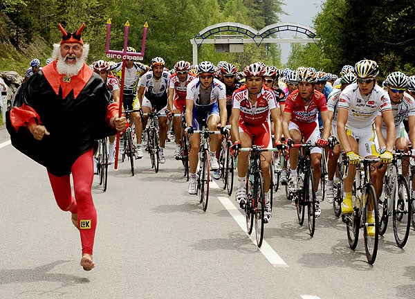 I Have Seen The Devil, And He Is A German Cycling Fan