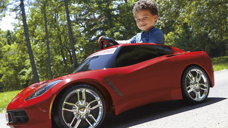 Your Little Gearhead Needs A Power Wheels Corvette Stingray