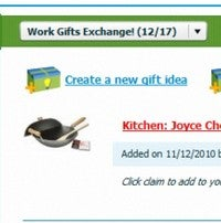 CheckedTwice is an Easy to Set Up Universal Group Gift Registry