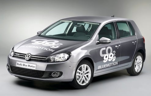 Volkswagen Golf BlueMotion Diesel Claims 62 MPG Without Fancy Electric Motors