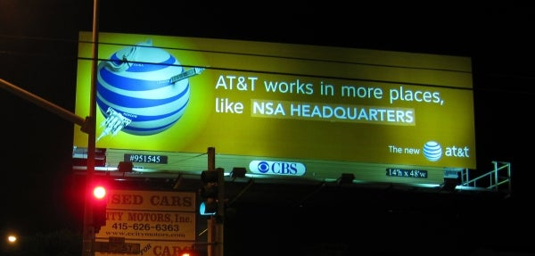 NSA Gets the Best AT&T Coverage Around