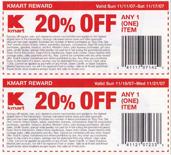 Dealzmodo: $20% off at Kmart Means PS3 For $319, Xbox 360 Premium For $279