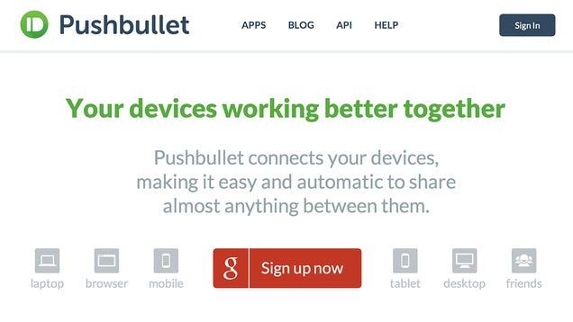 Send Almost Anything To Your Phone With Pushbullet