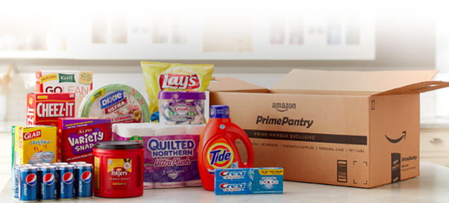 Amazon Prime Pantry: 45 Pounds of Groceries Delivered for $6