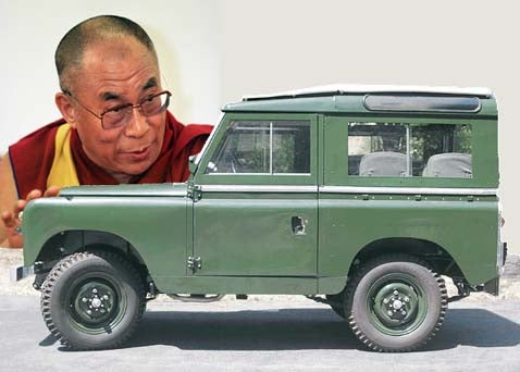 Buy The Dalai's Land Rover, Get Enlightenment!