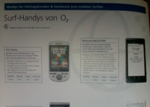 Droid, In Deutschland You Shall Be Called Milestone