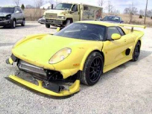 Cracked Up Noble M400 On eBay, Maybe Bigger Brakes Are In Order