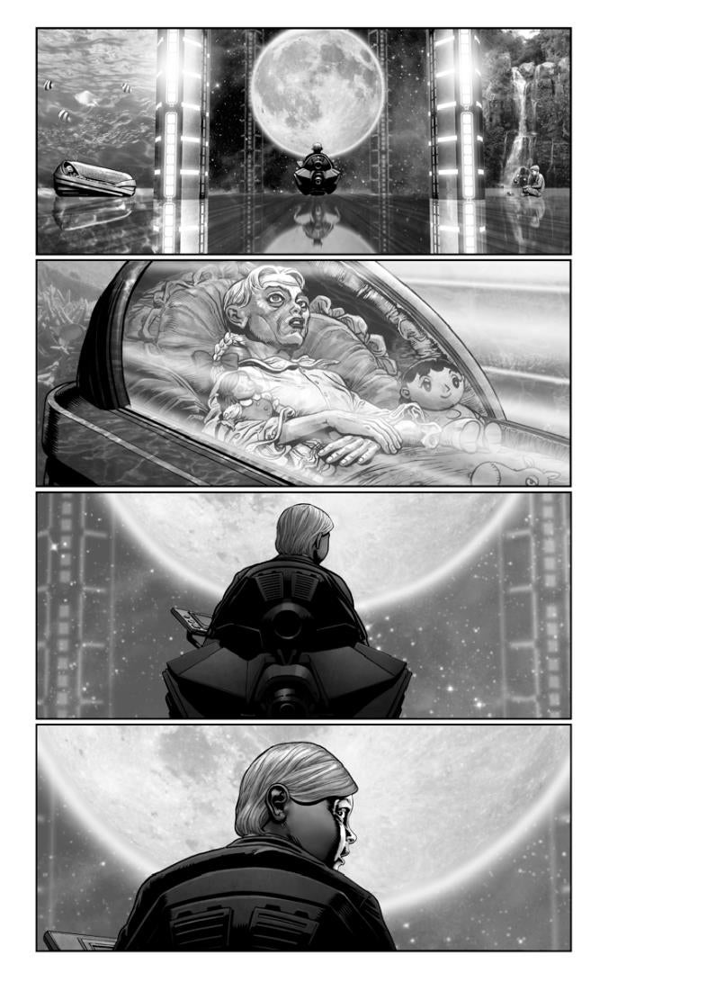 These unused American Akira storyboards are actually quite gorgeous
