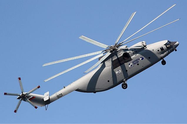 China And Russia Team Up To Build World's Largest, Most Powerful Chopper