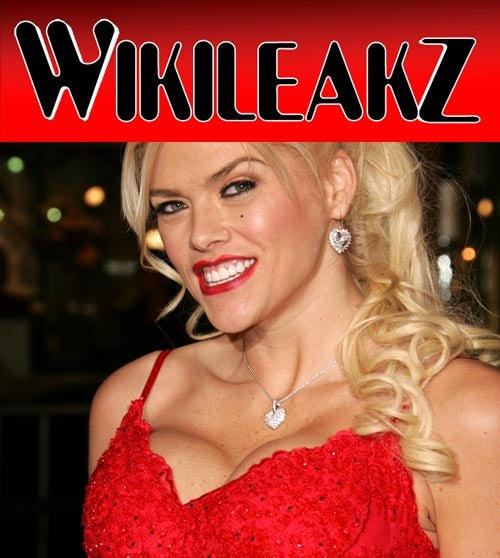 Wikileaks Exposes Anna Nicole Smith's Bahamian Rampage