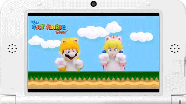 Nintendo, Your Cat Mario Show Is Weird