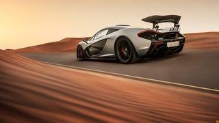 The McLaren P1 On Mars