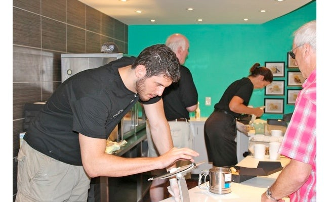 "Former Duke Center Brian Zoubek Owns And Operates A Cream Puff Store Called ""Dream Puffz"""
