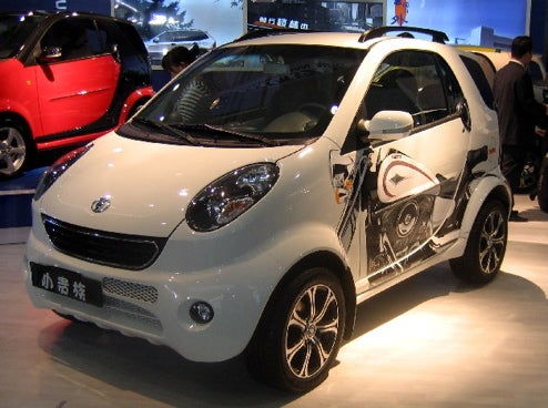 Chinese Automotive Ingenuity: Two Clones In One