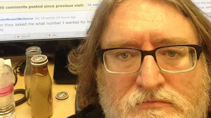 Gabe Newell Posts On Reddit and Here's Proof