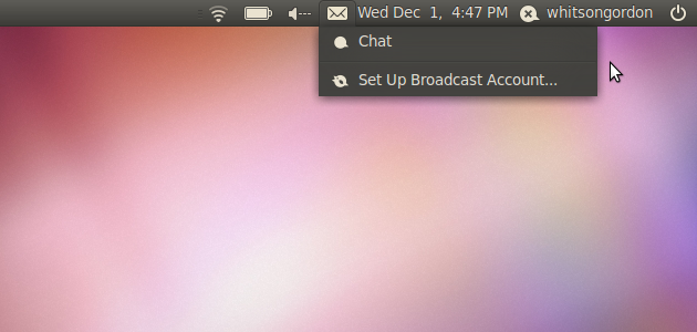 Remove Unwanted Entries from Ubuntu's Messaging Menu