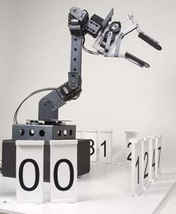 Stonehenge, The Analog and Digital Clock Robot