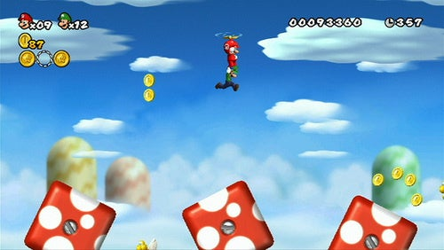 New Super Mario Bros. Wii Over 10 Million Served