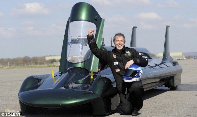 World's Fastest Kettle: Steam Supercar to Break 170MPH Barrier