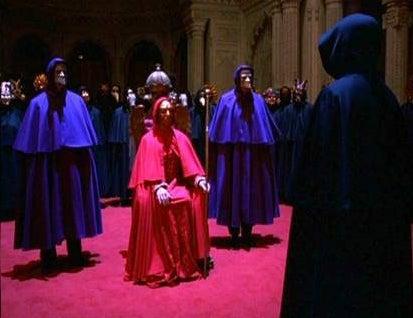 Secret College Monk Orgy Draws Mild Rebuke