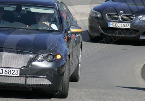 2011 BMW M5 Spotted Lapping The 'Ring
