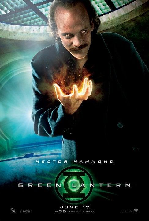 Green Lantern Hector Hammond Character Poster
