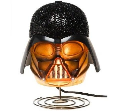 Bedtime Stories Seem Darker with the Darth Vader Bedside Light