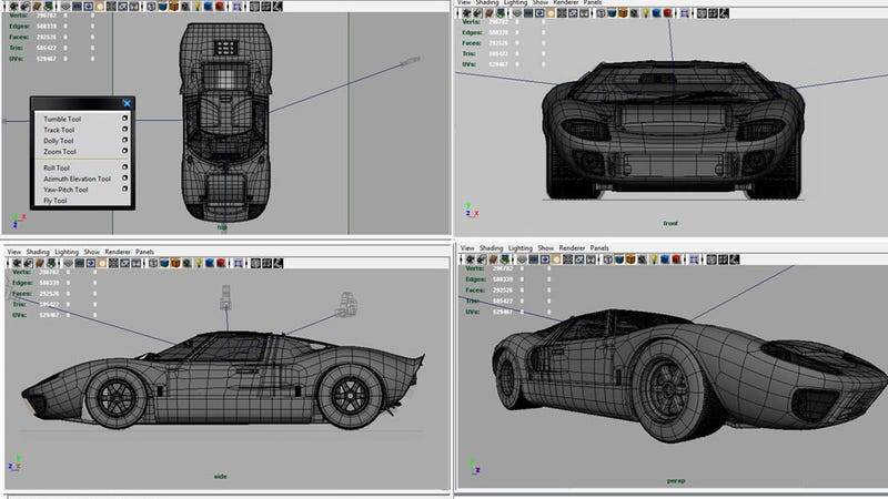 How I built a supercar out of pixels
