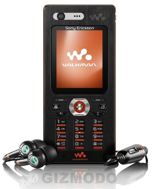 Sony Ericsson's w880 Walkman Phone is Official: Details and Glamour Shots