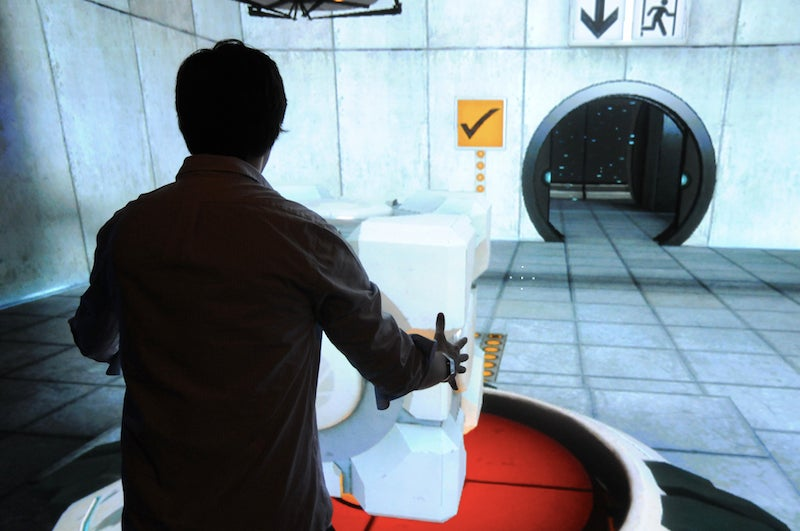 I Played Portal on a 150-Inch Plasma HDTV and You Didn't
