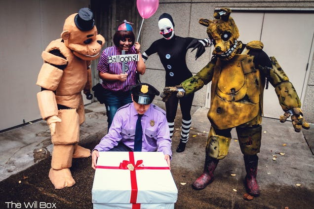 Killer five nights at freddy s cosplay