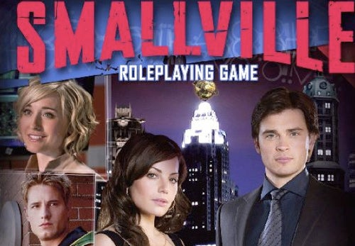 Smallville RPG wields big drama