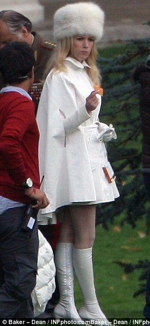 First look at January Jones as X-Men's Emma Frost