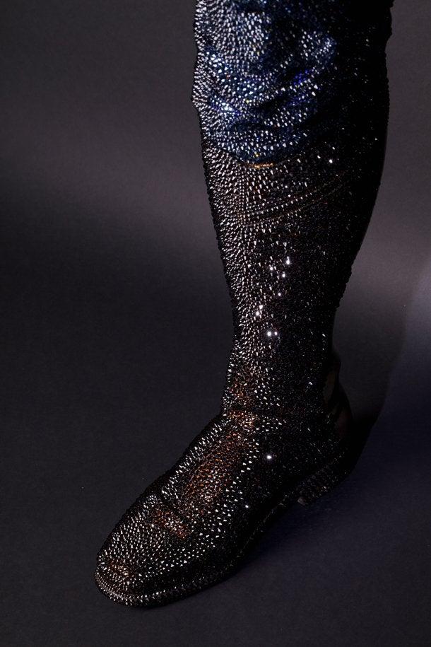 An Insane Price. A Glittery Crotch. A Good Cause.