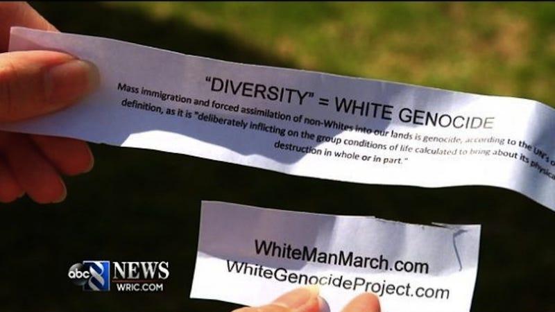 White Supremacists Crash Easter Egg Hunt, Leave Racist Easter Eggs