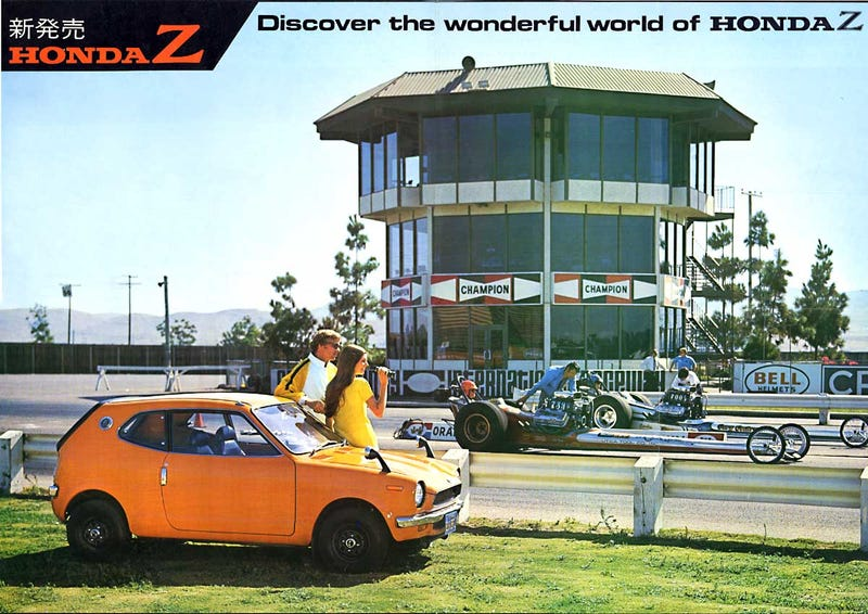 Cool Honda Z ad