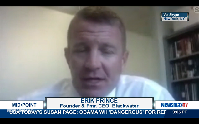 Erik Prince Blames Blackwater Murders On Lefties