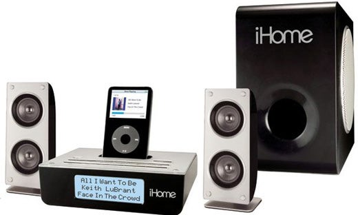 iPod Dock Bracket, iLive Studio vs. iHome iH52