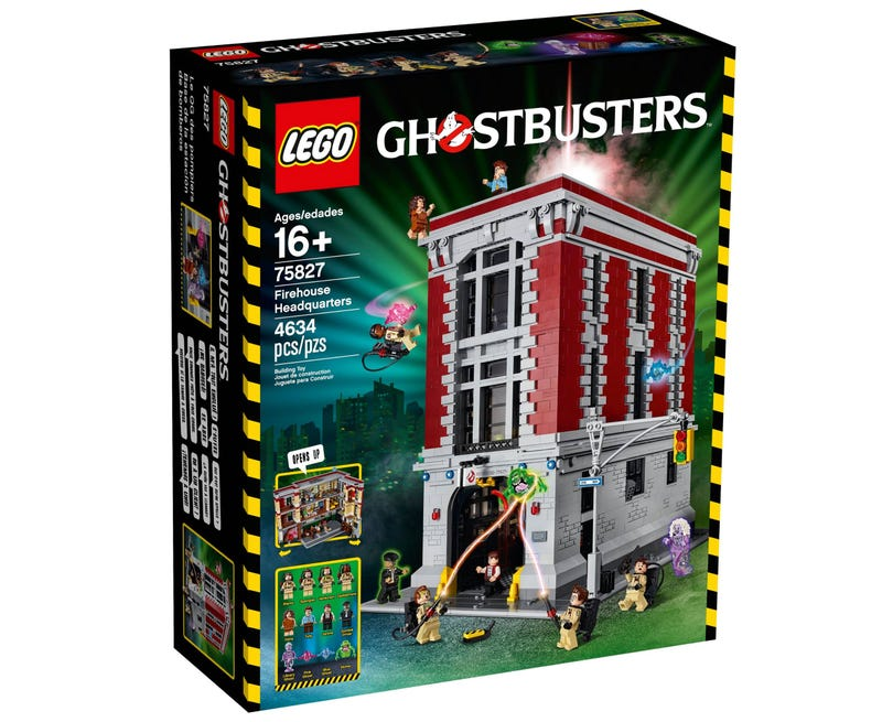 Our First Look Inside the Lego Ghostbusters Firehouse HQ Reveals So Many Wonderful Details