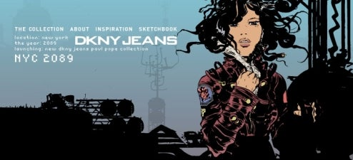 Pope Creates Tomorrow's Jeans Today For DKNY Jeans 2089