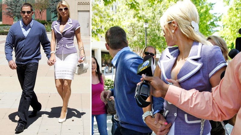 Paris Hilton's Bodyguard Subdues an Attacker