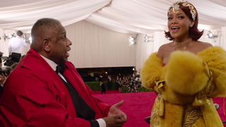 The Best Met Gala 'Moments' of André Leon Talley Interviewing Celebs