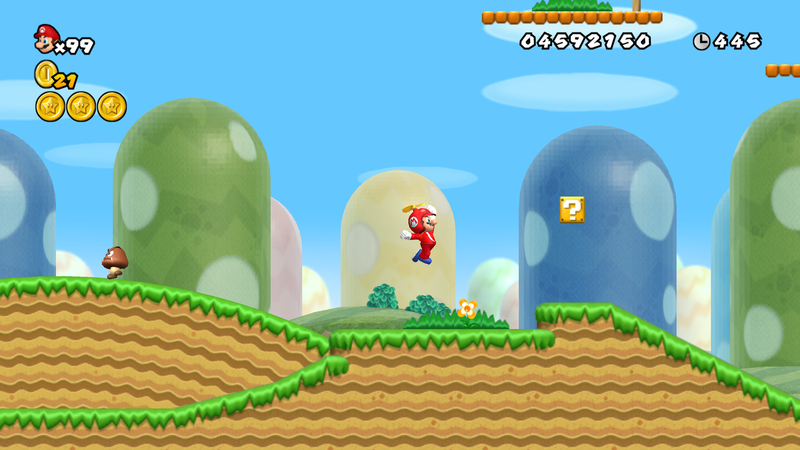 Mario Bros World rock is yet another proof that nature is amazing