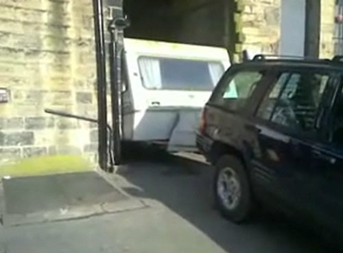 How NOT To Unstick Your Camper