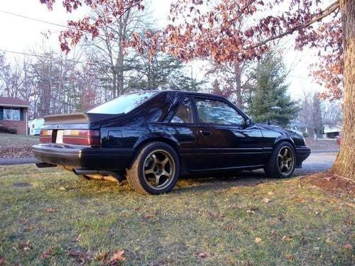 1984 Mustang SVO Børkenstein for $6,950