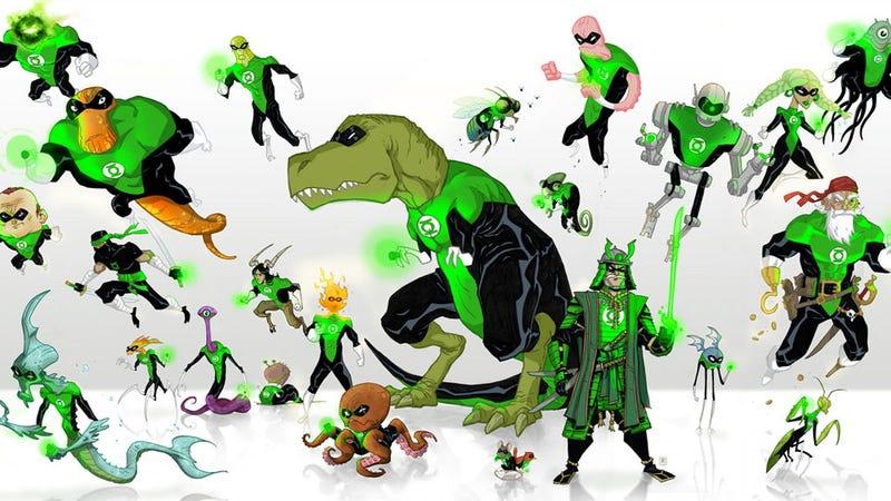 Party like a Green Lantern!